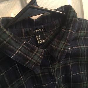 Flannel blouse 🍃🌾